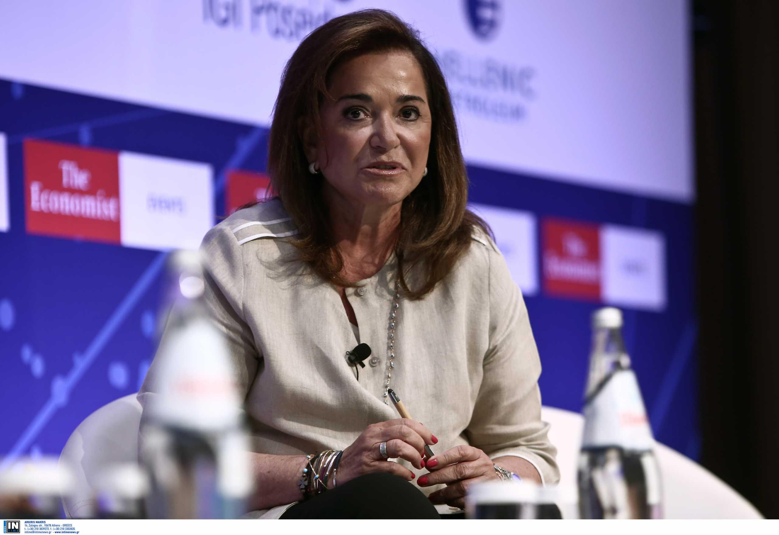 Μπακογιάννη στον Economist: Το Κράτος έκανε ό,τι μπορούσε για να ενισχύσει την αμφισβήτηση των πολιτών