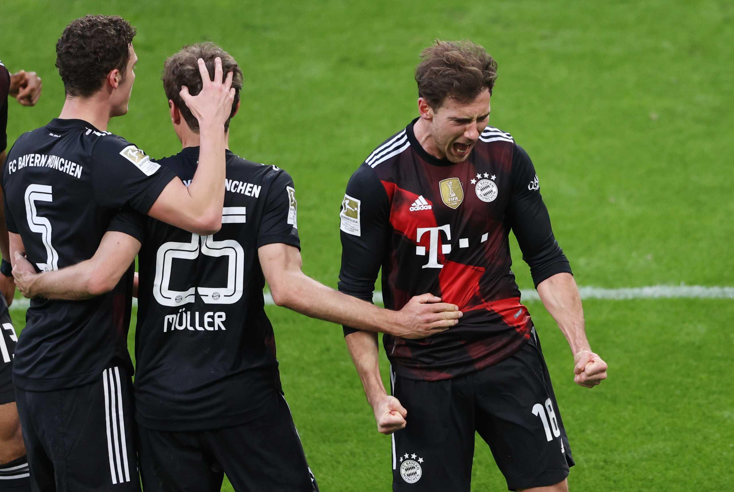 Bundesliga: H Μπάγερν Μονάχου πήρε το ντέρμπι κορυφής και χωρίς Λεβαντόφσκι (video)