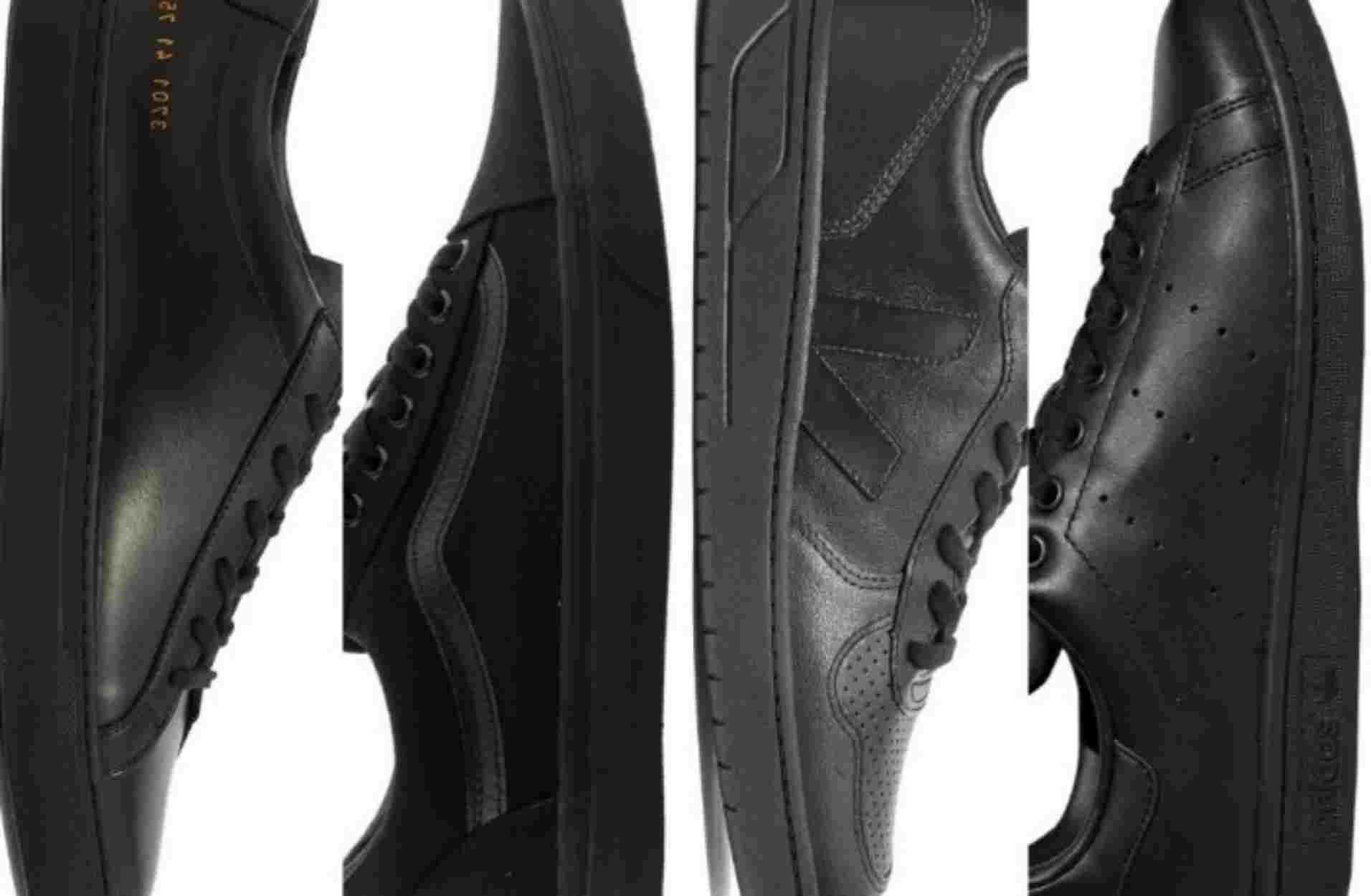 Τα 10 καλύτερα μαύρα sneakers στον κόσμο για τους πιο απαιτητικούς