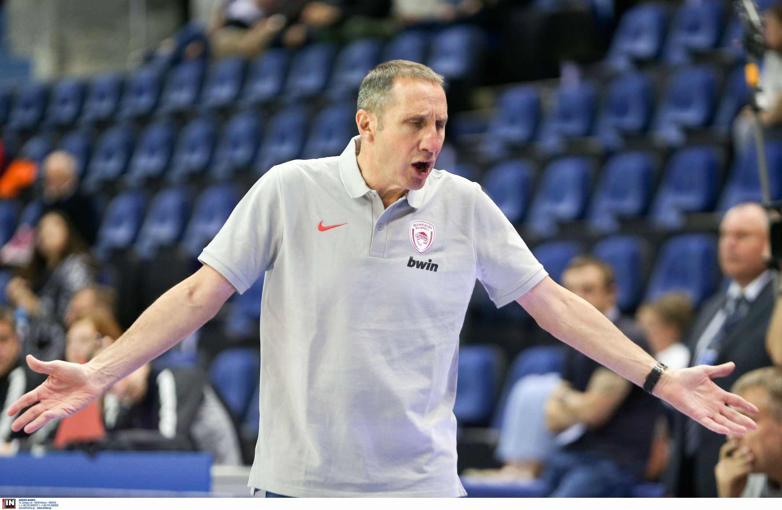 Μπλατ: «Ήμουν αντίθετος με την απόφαση αποχώρησης του Ολυμπιακού στο ημίχρονο»