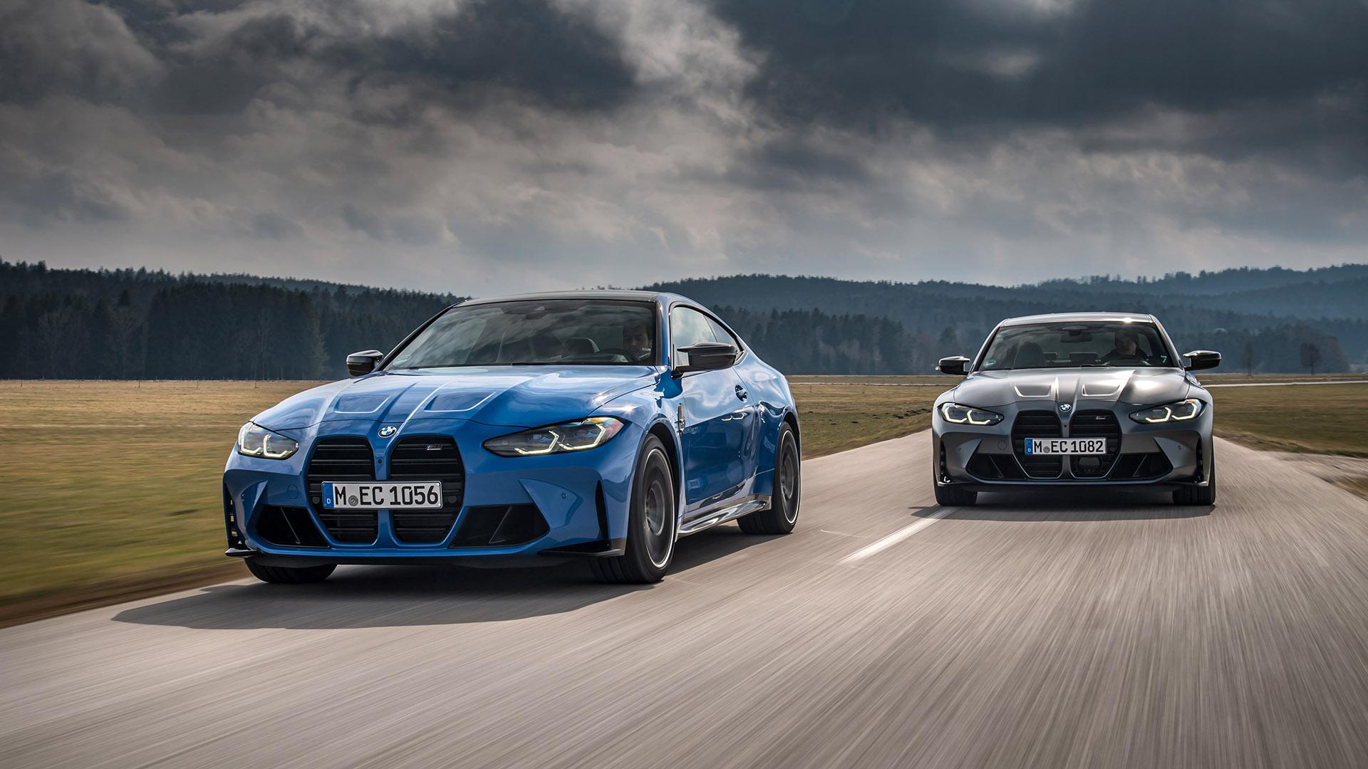 Νέες τετρακίνητες εκδόσεις για τις BMW M3 και M4 (pics)