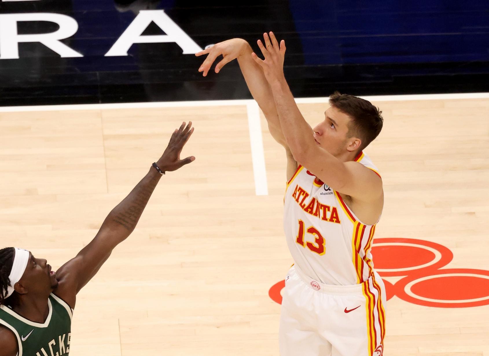 Ο Μπογκντάνοβιτς «πυροβόλησε» τους Μπακς του φοβερού Αντετοκούνμπο – Τα αποτελέσματα του NBA