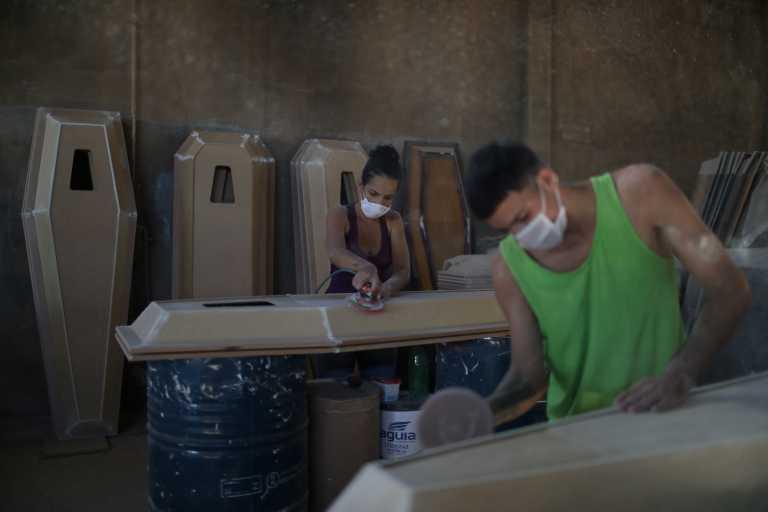 Βραζιλία - κορονοϊός: Πάνω από 2.100 νεκροί το τελευταίο 24ωρο