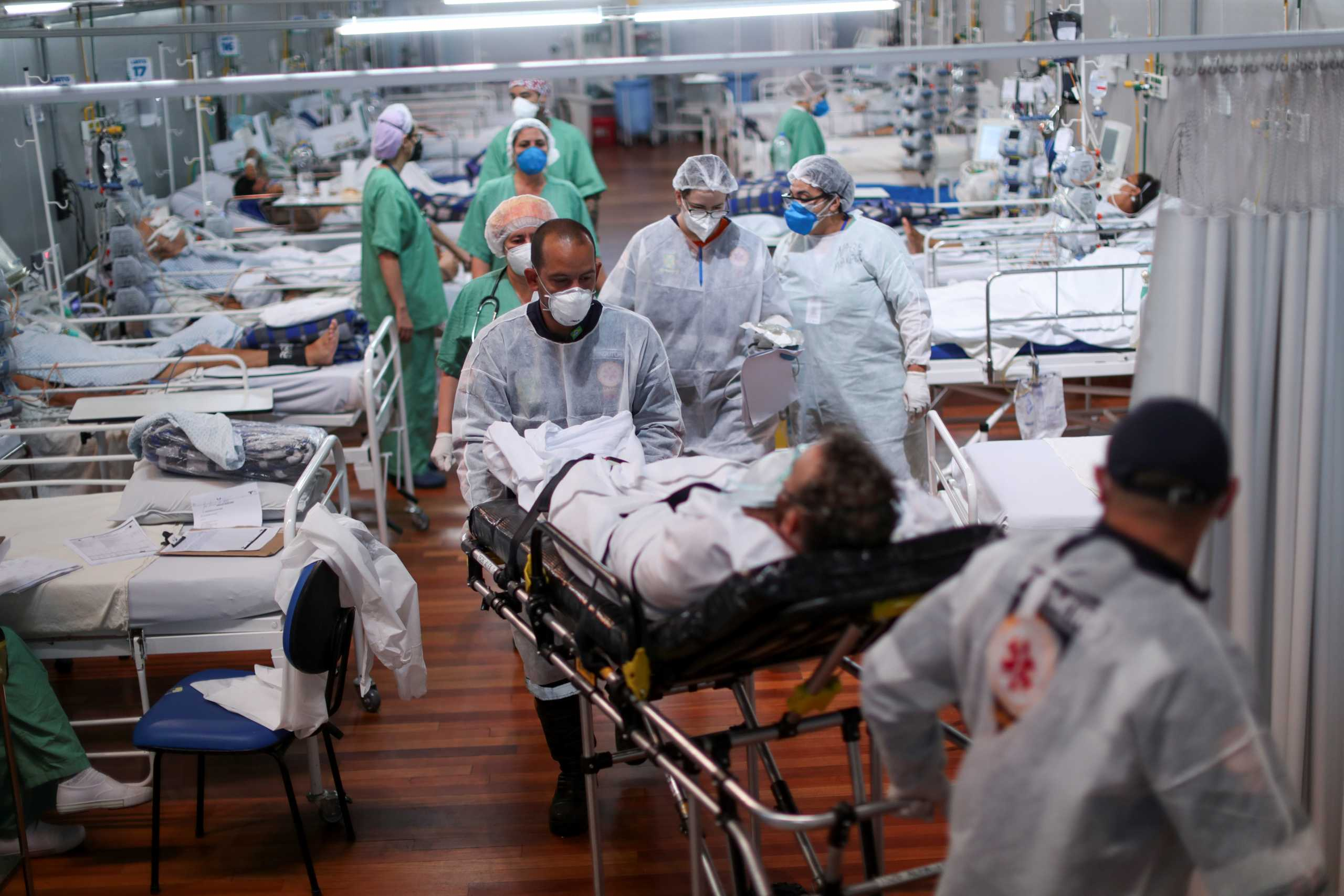Βραζιλία – κορονοϊός: Αύξηση πάνω από 800% σε θανάτους σε ηλικίες 20-40 ετών