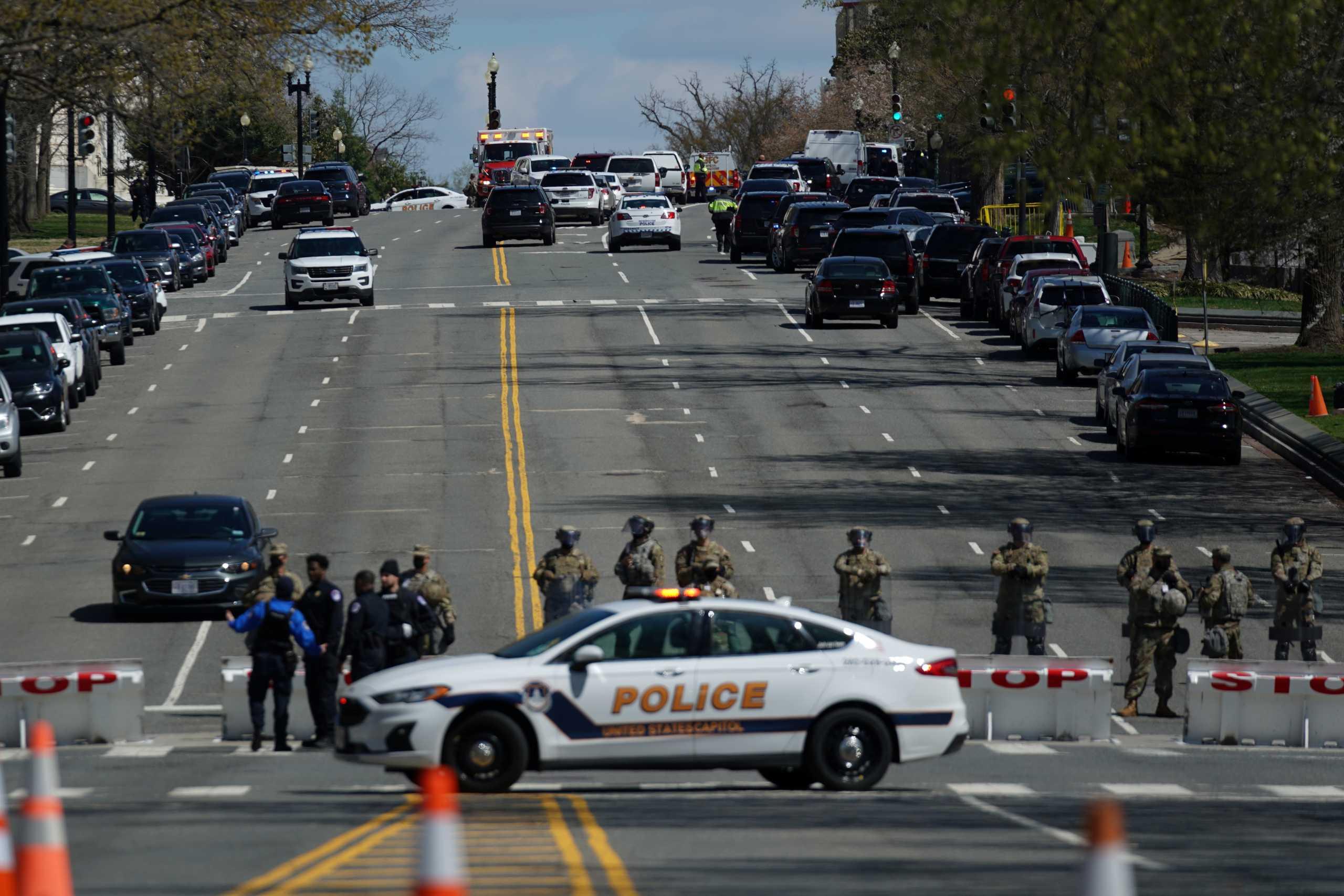 Συναγερμός στο Καπιτώλιο – Απειλή για βόμβα σε παγιδευμένο φορτηγάκι