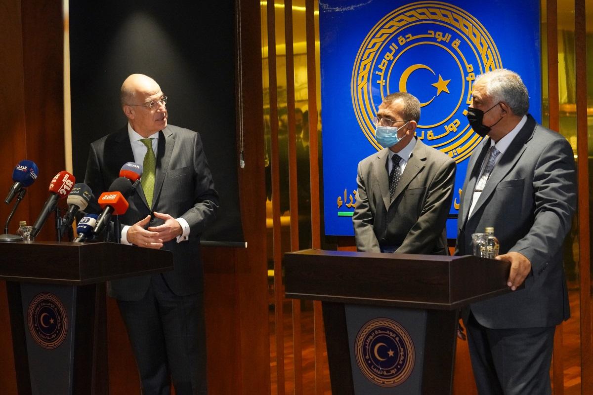 Αναπληρωτής πρωθυπουργός Λιβύης σε Δένδια: Η Βουλής μας έκρινε ως μη νόμιμο το τουρκολιβυκό μνημόνιο