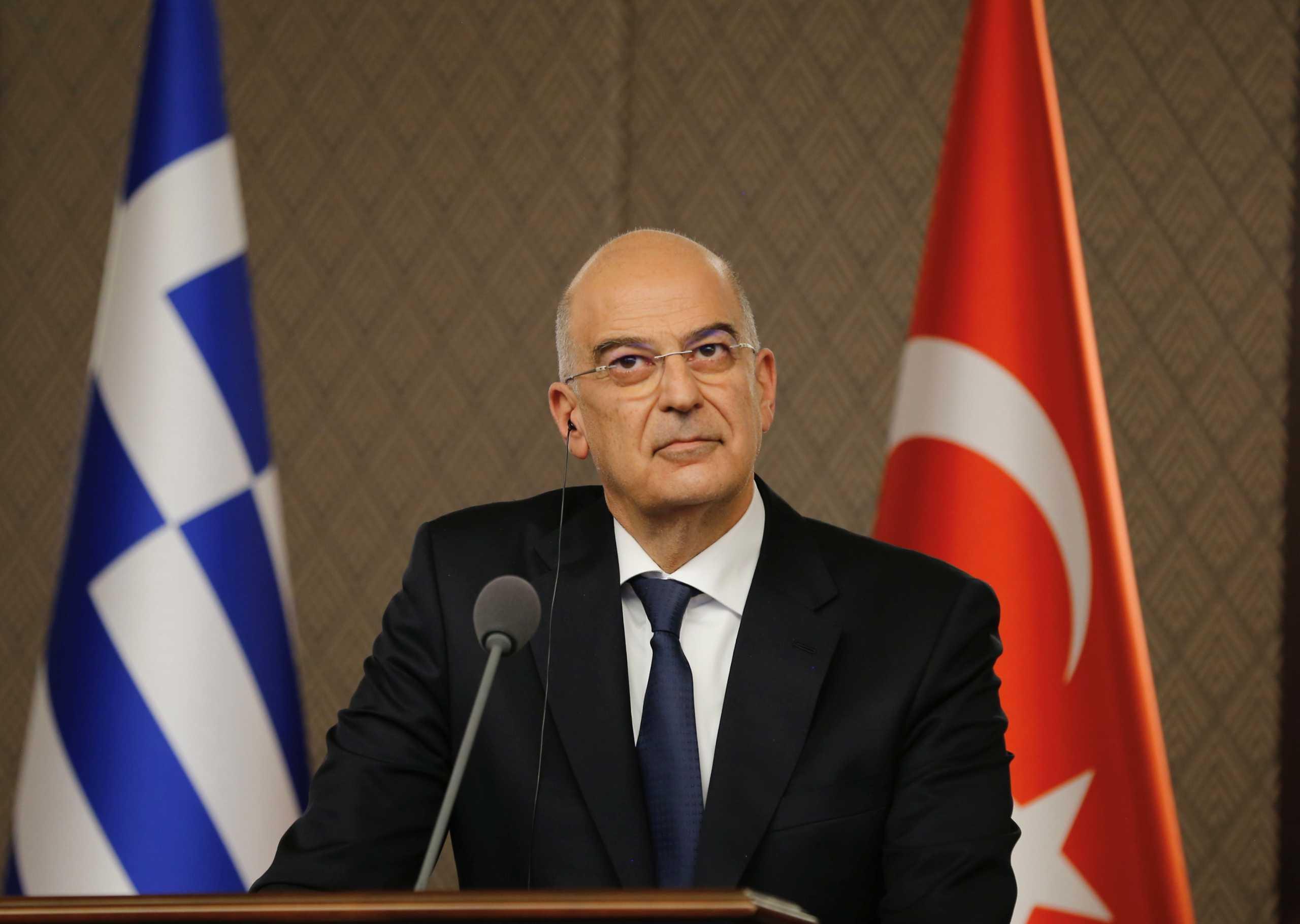 Δένδιας: Δε μπορούμε να κρύψουμε τις διαφωνίες μας με την Τουρκία