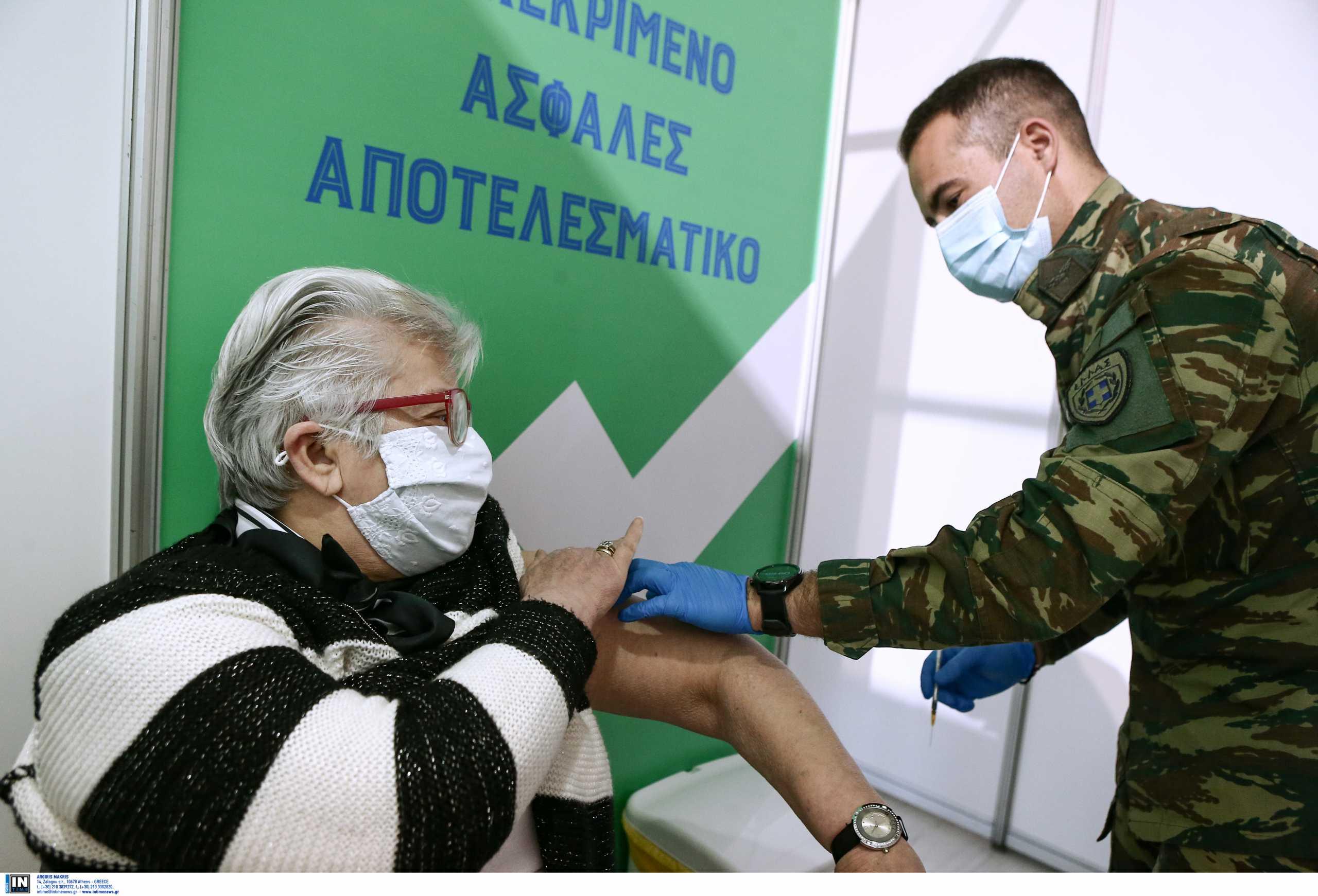 Ελλάδα και εμβολιασμοί Covid-19: Τα χαμηλότερα ποσοστά εμβολιασμού ηλικιωμένων στην Ευρώπη