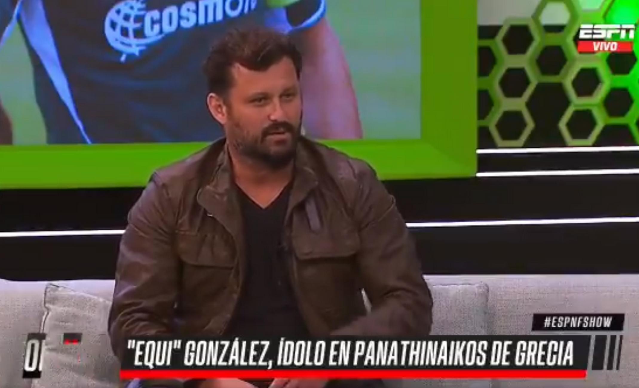Έκι Γκονζάλες: «Έχω πάρει 20 κιλά – Μερικές φορές θυμάμαι ότι ήμουν ποδοσφαιριστής»