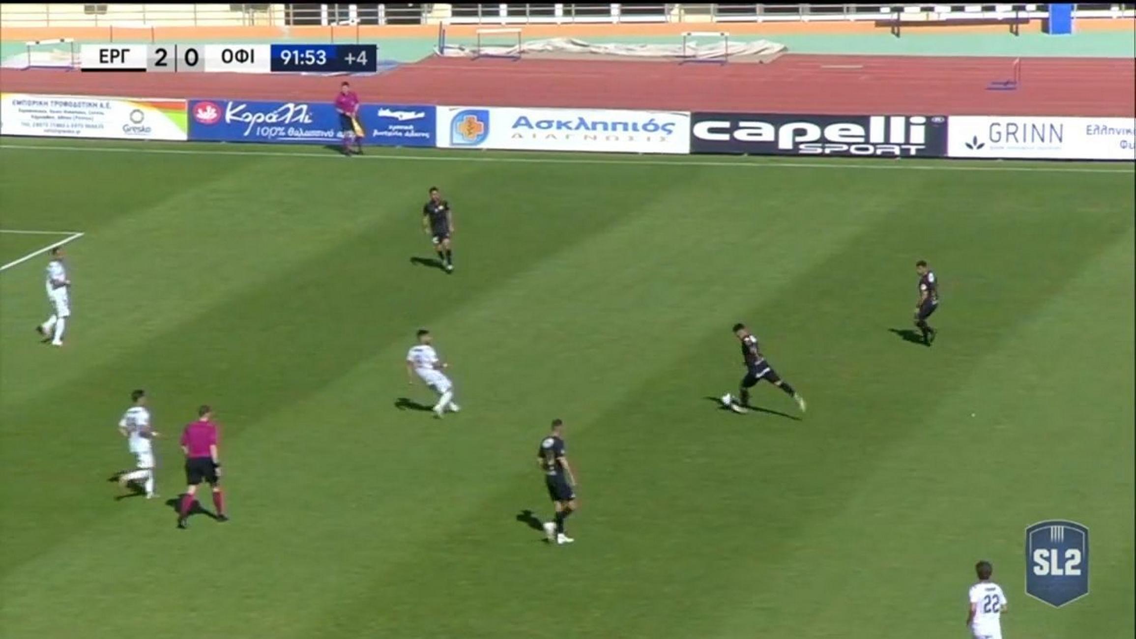 Superleague 2: Εκπληκτικό γκολ «φωτοβολίδα» στο ντέρμπι της Κρήτης (video)