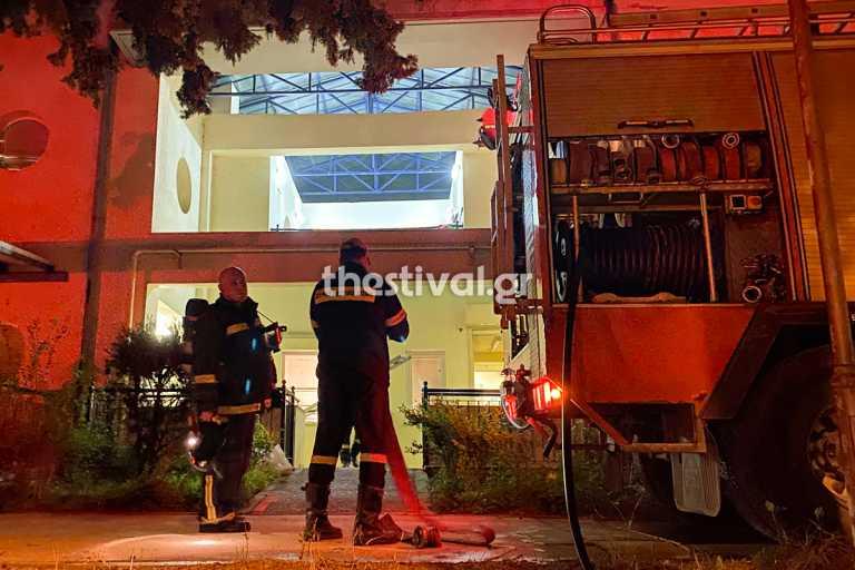 Θεσσαλονίκη: Φωτιά σε ίδρυμα με ανάπηρα παιδιά – Οι υπάλληλοι απεσόβησαν τα χειρότερα (video)