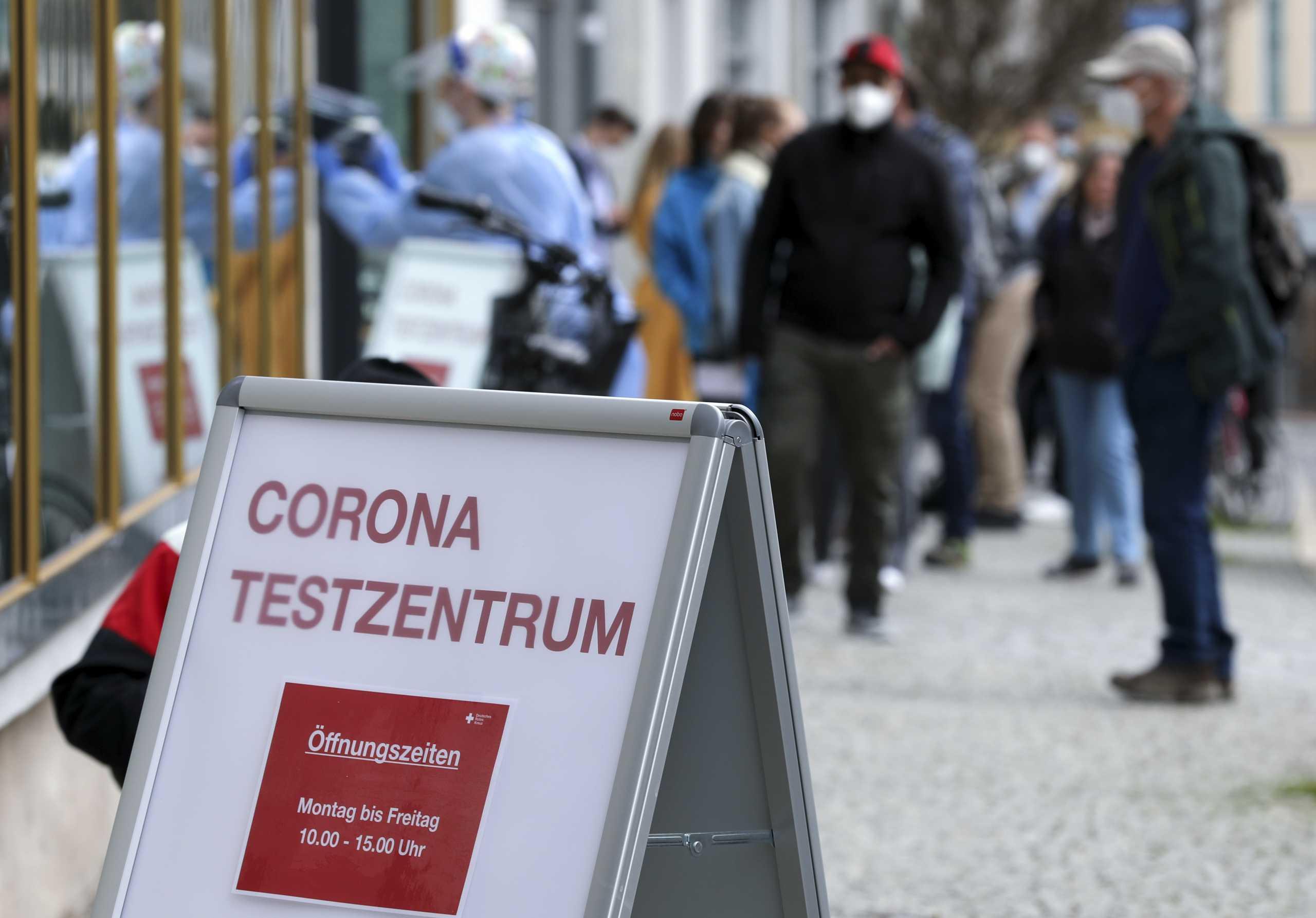 Γερμανία – κορονοϊός: Πάνω από 4.700 νέα κρούσματα σε ένα 24ωρο