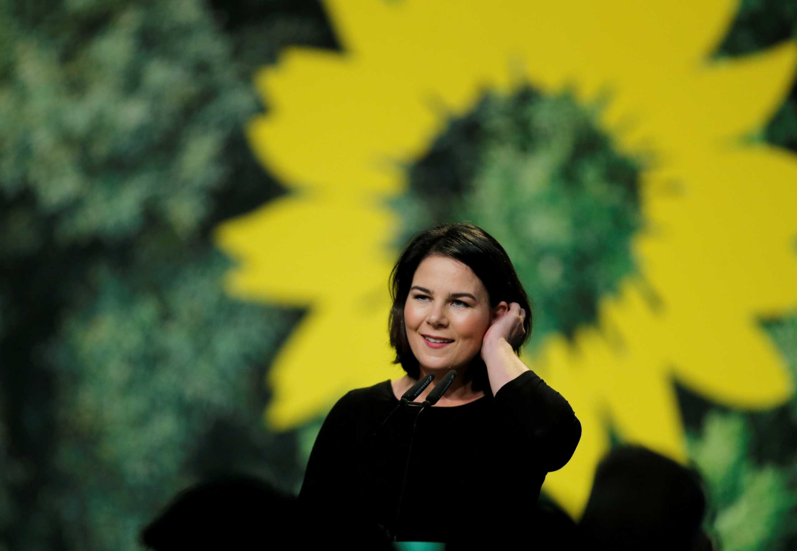 Η Ανναλένα Μπέρμποκ είναι υποψήφια καγκελάριος στην Γερμανία με τους Πράσινους