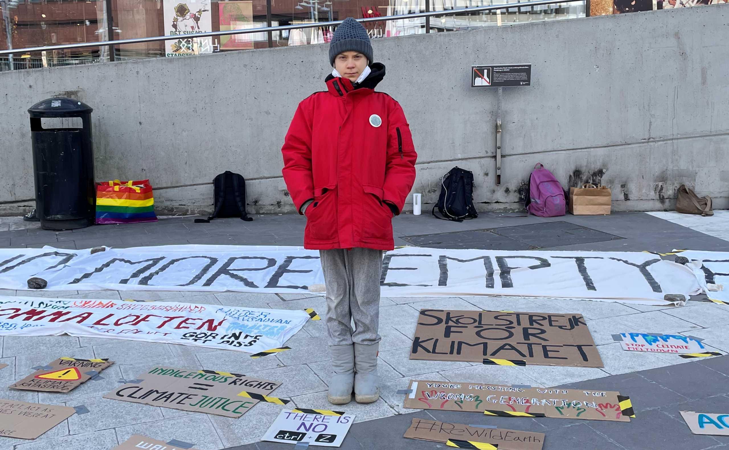 Ηχηρή απουσία της Γκρέτα Τούνμπεργκ από τη σύνοδο του ΟΗΕ για το κλίμα