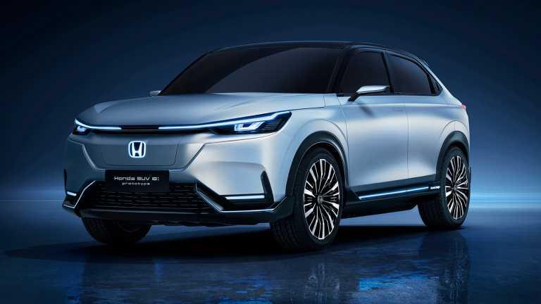 Το πρώτο ηλεκτρικό SUV της Honda θα βασίζεται στο νέο HR-V (pics)