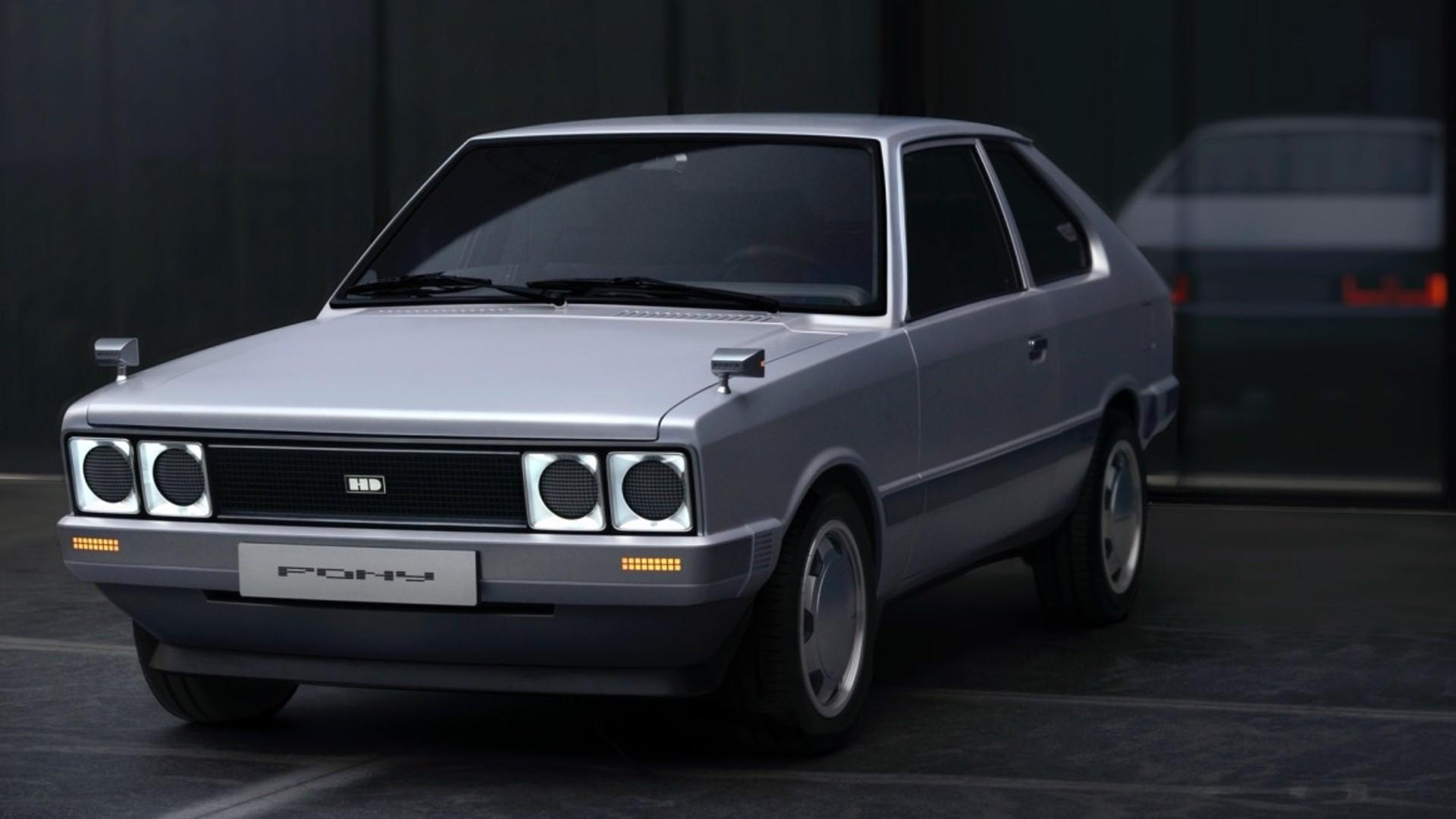 To πρώτο αυτοκίνητο της Hyundai λεγόταν Pony και επιστρέφει μετά από 45 χρόνια! (pics)