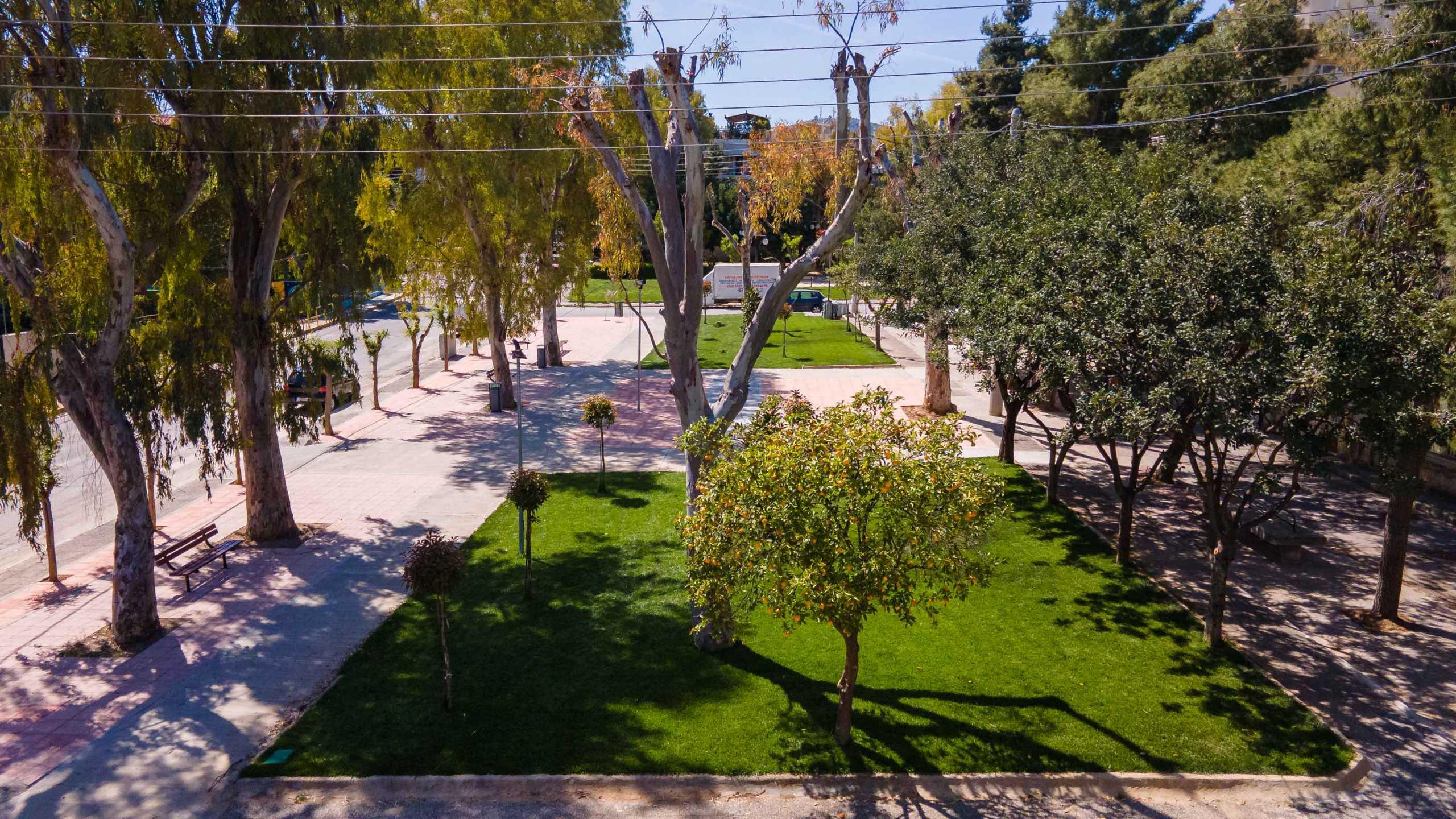Νέος χώρος πράσινου στο Ίλιον (pics, video)
