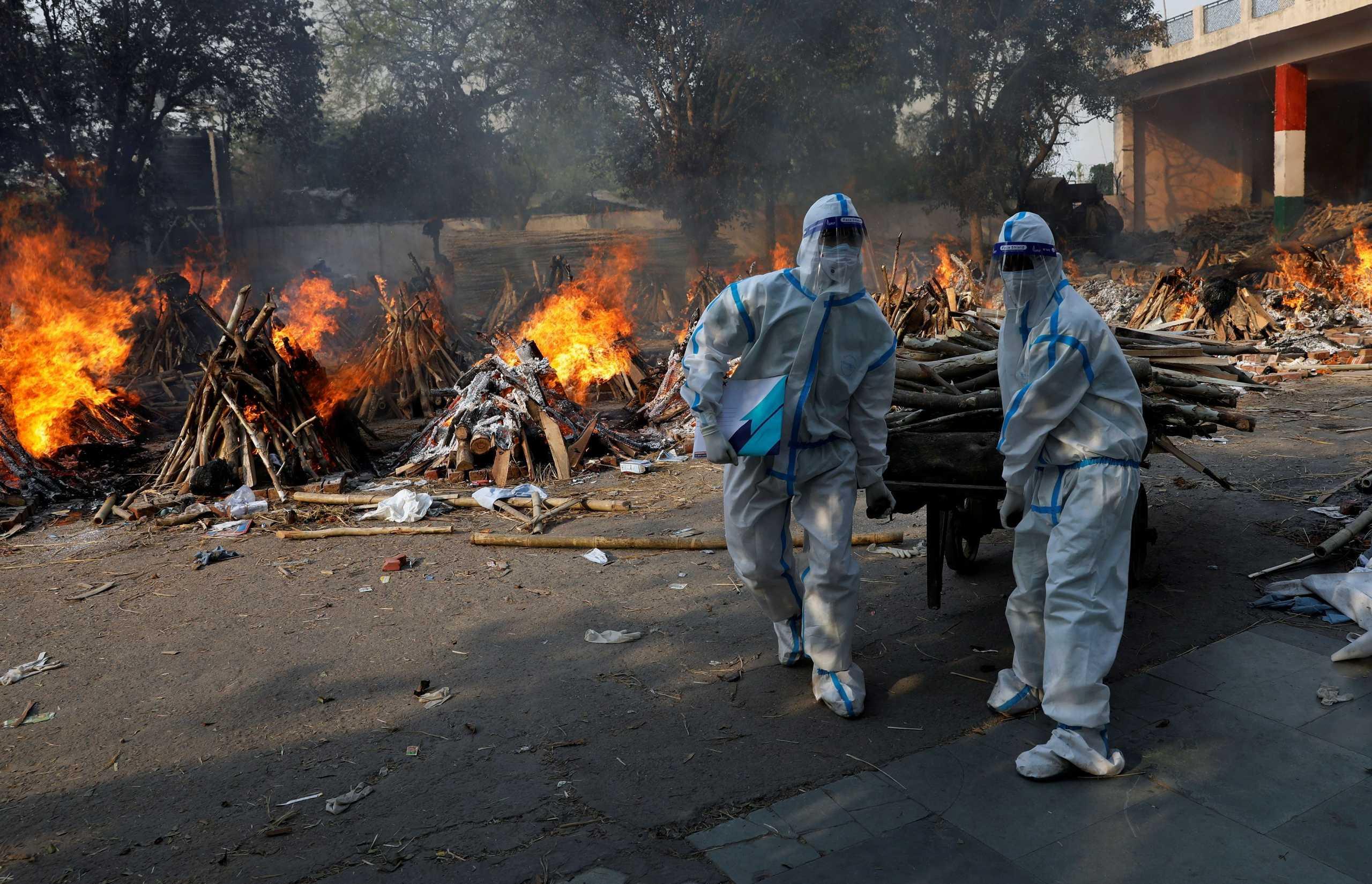 Ινδία: Ρεκόρ με 2.689 νεκρούς από κορονοϊό το τελευταίο 24ωρο – 392.488 νέα κρούσματα