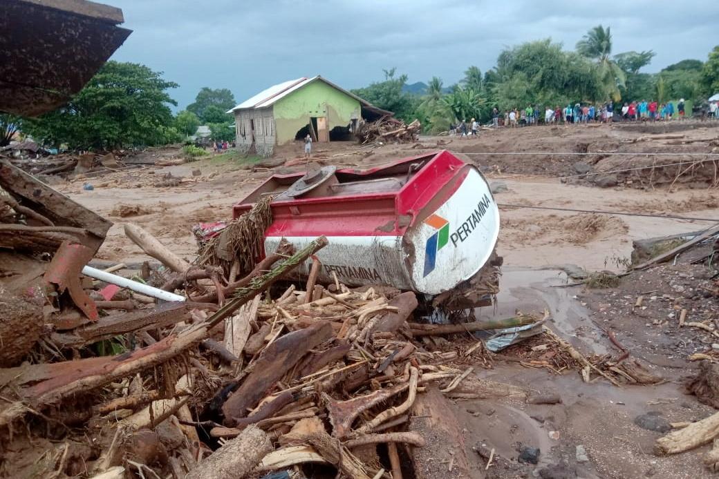 Ιαπωνία: Μεγάλες κατολισθήσεις από τις καταρρακτώδεις βροχές – 20 αγνοούμενοι