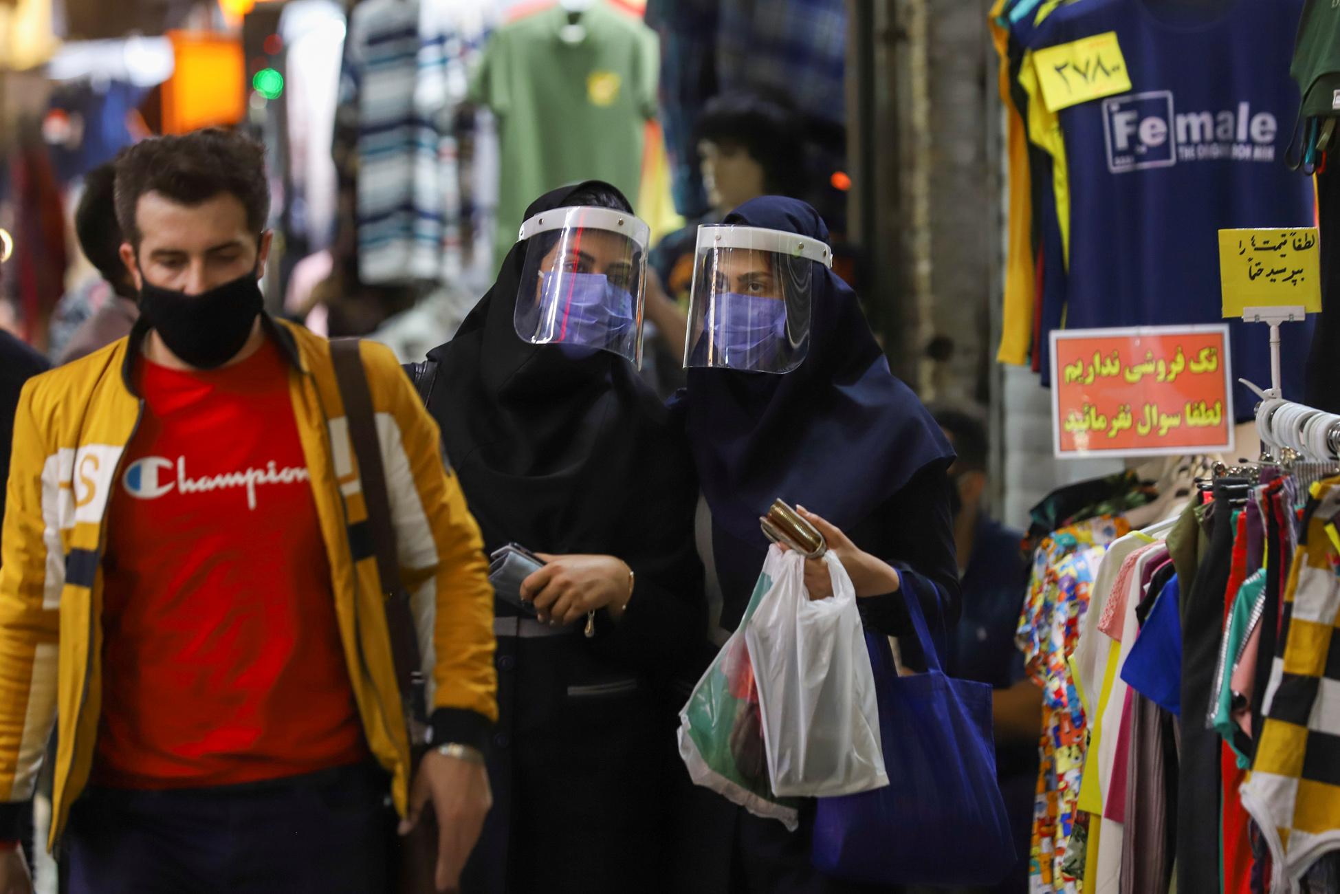 Ιράν – κορονοϊός: Νέο ρεκόρ με 24.760 κρούσματα