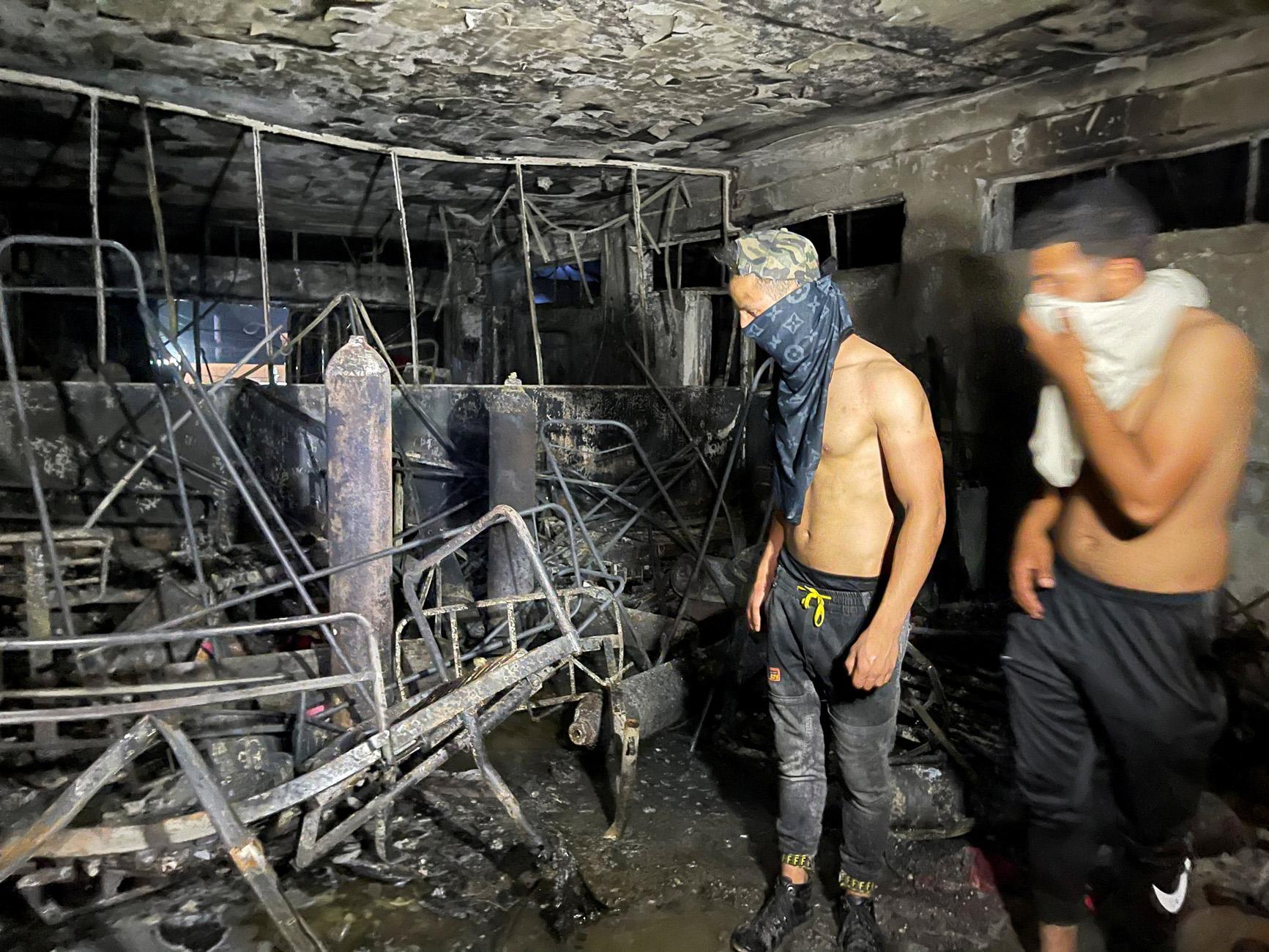 Ιράκ: Δεκάδες νεκροί μετά από φωτιά σε νοσοκομείο κορονοϊού στη Βαγδάτη