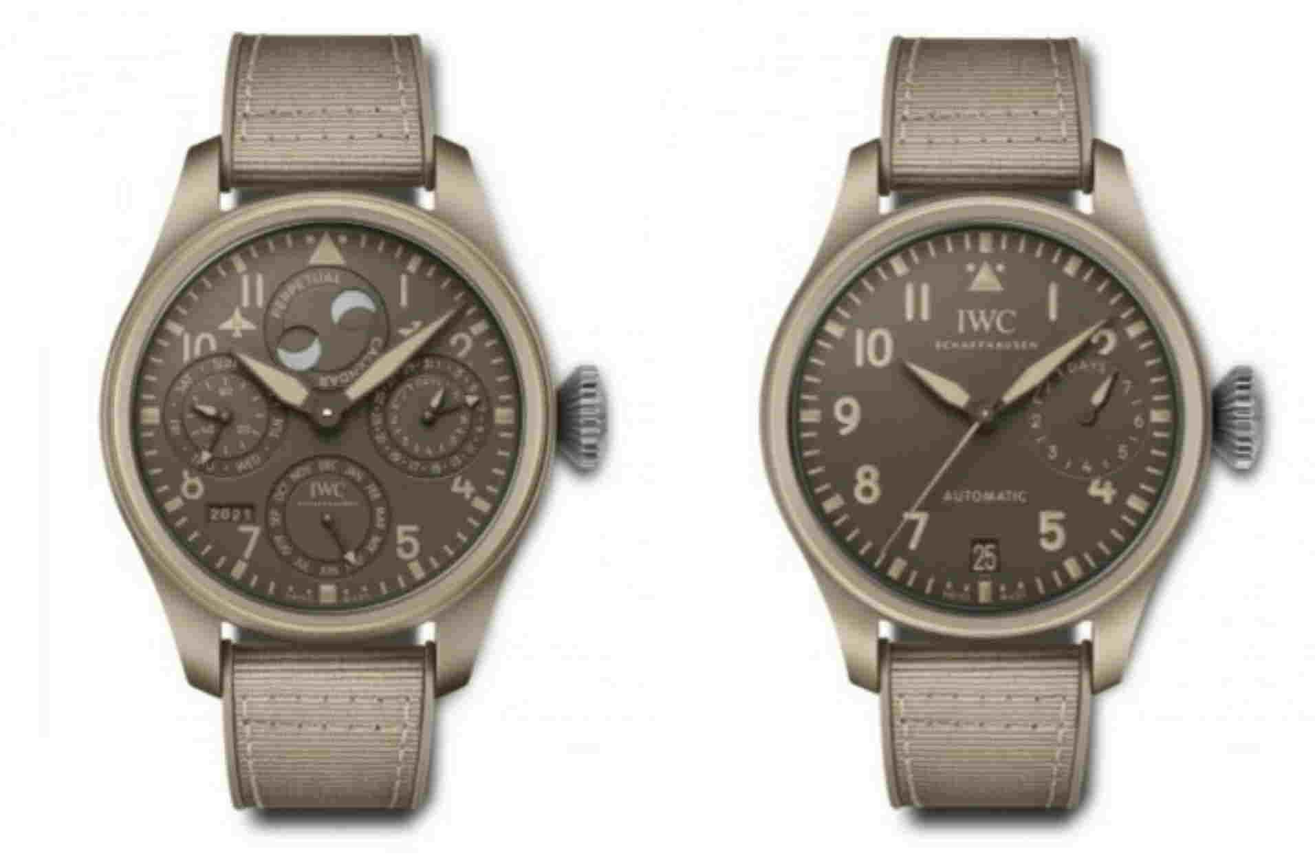 Δύο νέα σκληροτράχηλα ρολόγια από την IWC με στρατιωτικό DNA