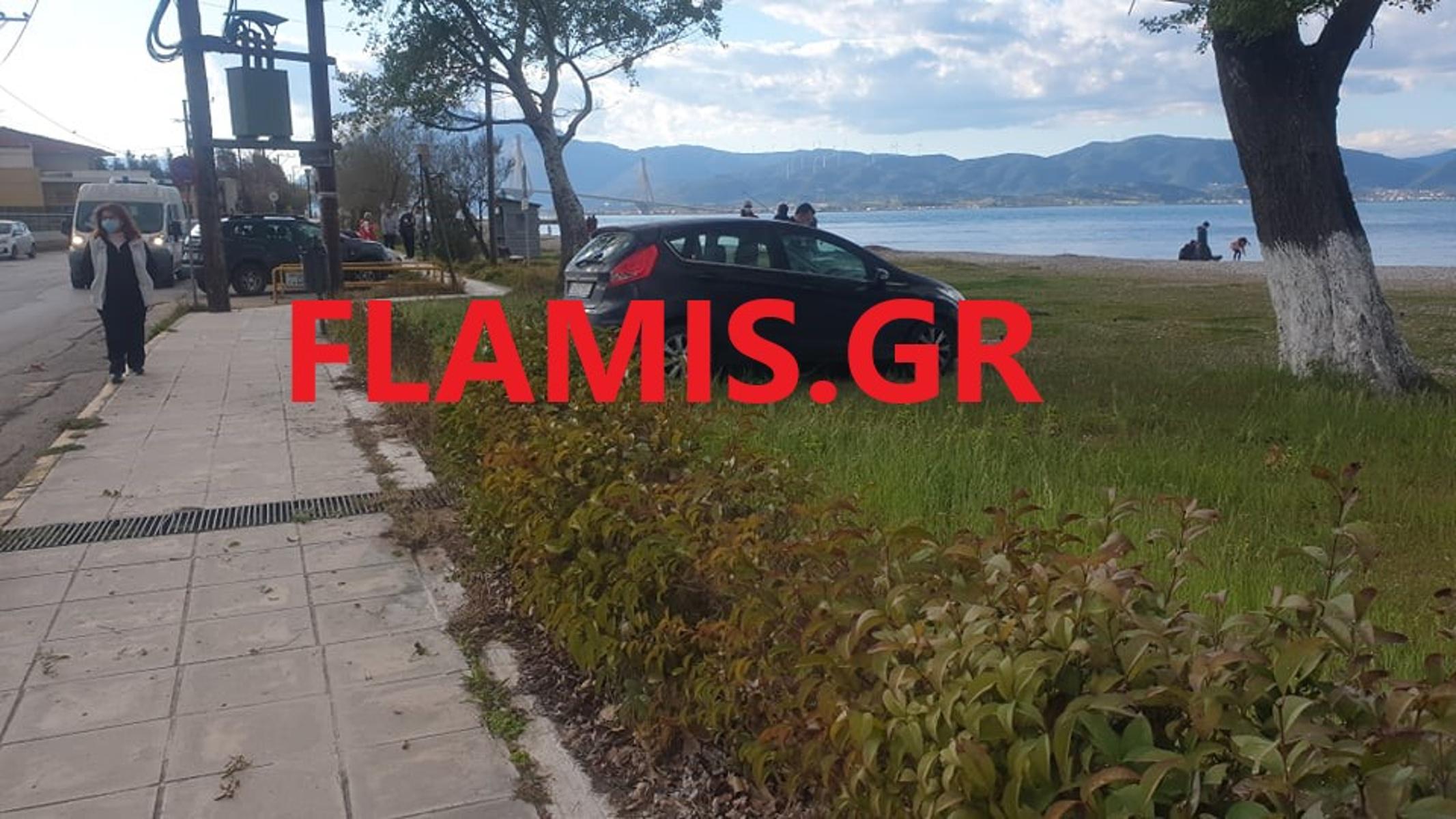 Πάτρα: Τρελή πορεία ΙΧ – Ανέβηκε σε πεζοδρόμιο παρασύροντας δύο ηλικιωμένους (pics)