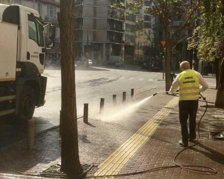 Δήμος Αθηναίων: Καθαριότητα και απολύμανση σε σχολεία, δρόμους και πλατείες στον Άγιο Παύλο