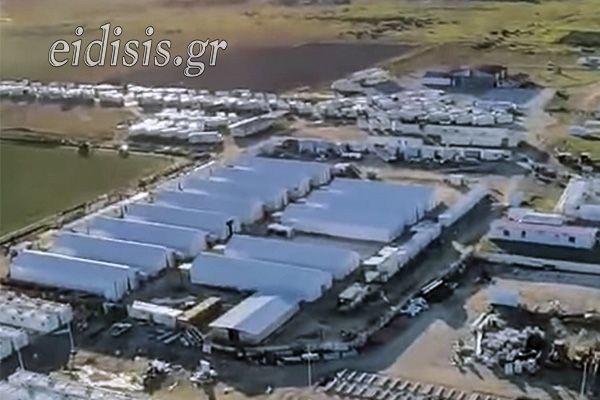 Κιλκίς: Χτίζουν τείχος στη δομή φιλοξενίας προσφύγων – «Θα είναι έτοιμο σε ένα μήνα»