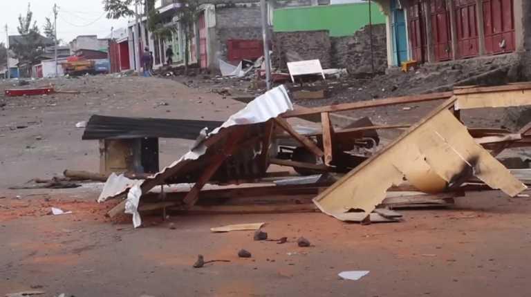 ΛΔ Κονγκό: Τουλάχιστον δέκα νεκροί στις διαδηλώσεις κατά του ΟΗΕ (video)