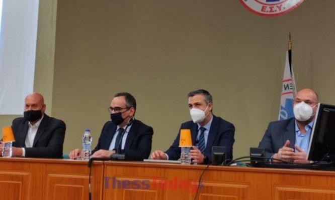 """Κοντοζαμάνης: Ενισχύεται το ΕΣΥ Θεσσαλονίκης – """"Δεν υπάρχουν διασωληνωμένοι σε απλές κλίνες"""""""