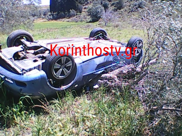 Κόρινθος: Σώθηκε από θαύμα ο οδηγός του αυτοκινήτου – Τι συνέβη μετά από αυτό το στιγμιότυπο (pics)
