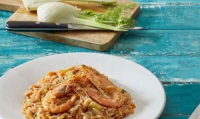 Αυτό το σαρακοστιανό κριθαρότο με γαρίδες από την Αργυρώ πρέπει να το δοκιμάσεις
