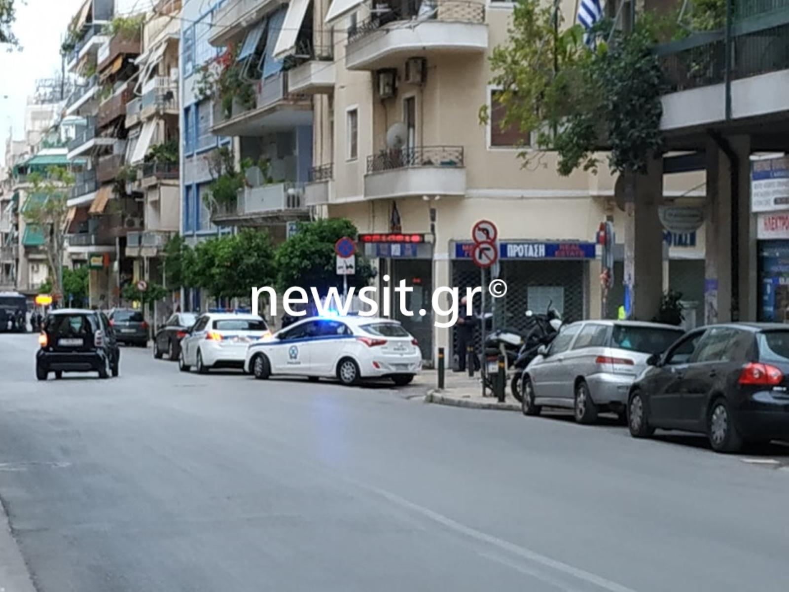 «Αστακός» η Κυψέλη: Μπλόκα της Αστυνομίας παντού (pics)