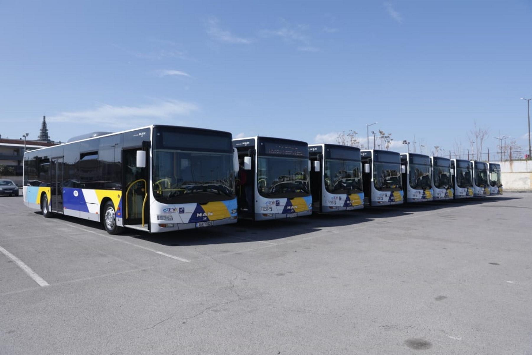Τα πρώτα 40 λεωφορεία με leasing βγαίνουν στους δρόμους της Αθήνας (pics)