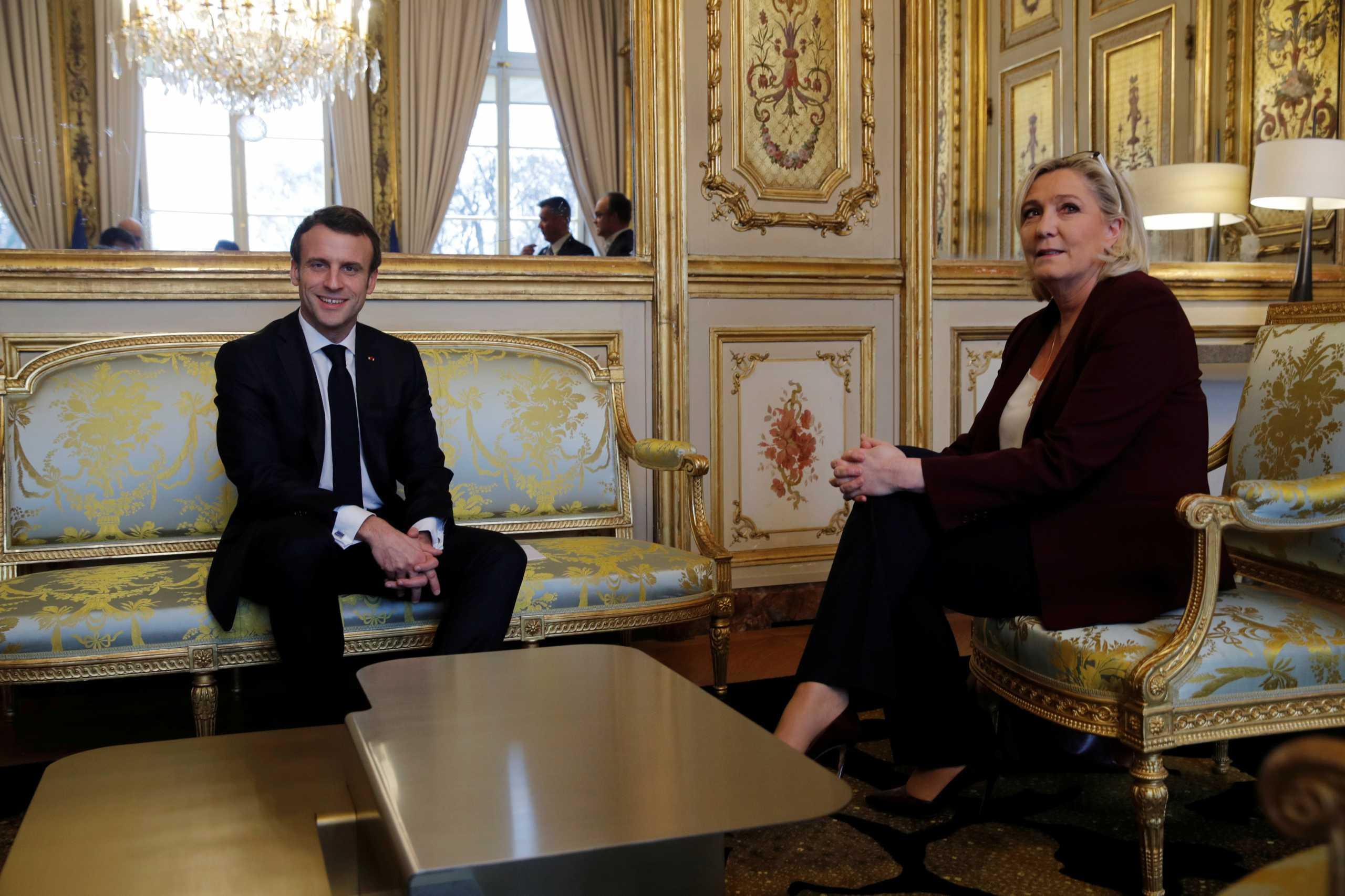 Υποψήφια πρόεδρος η Μαρίν Λε Πεν στις γαλλικές προεδρικές εκλογές του 2022