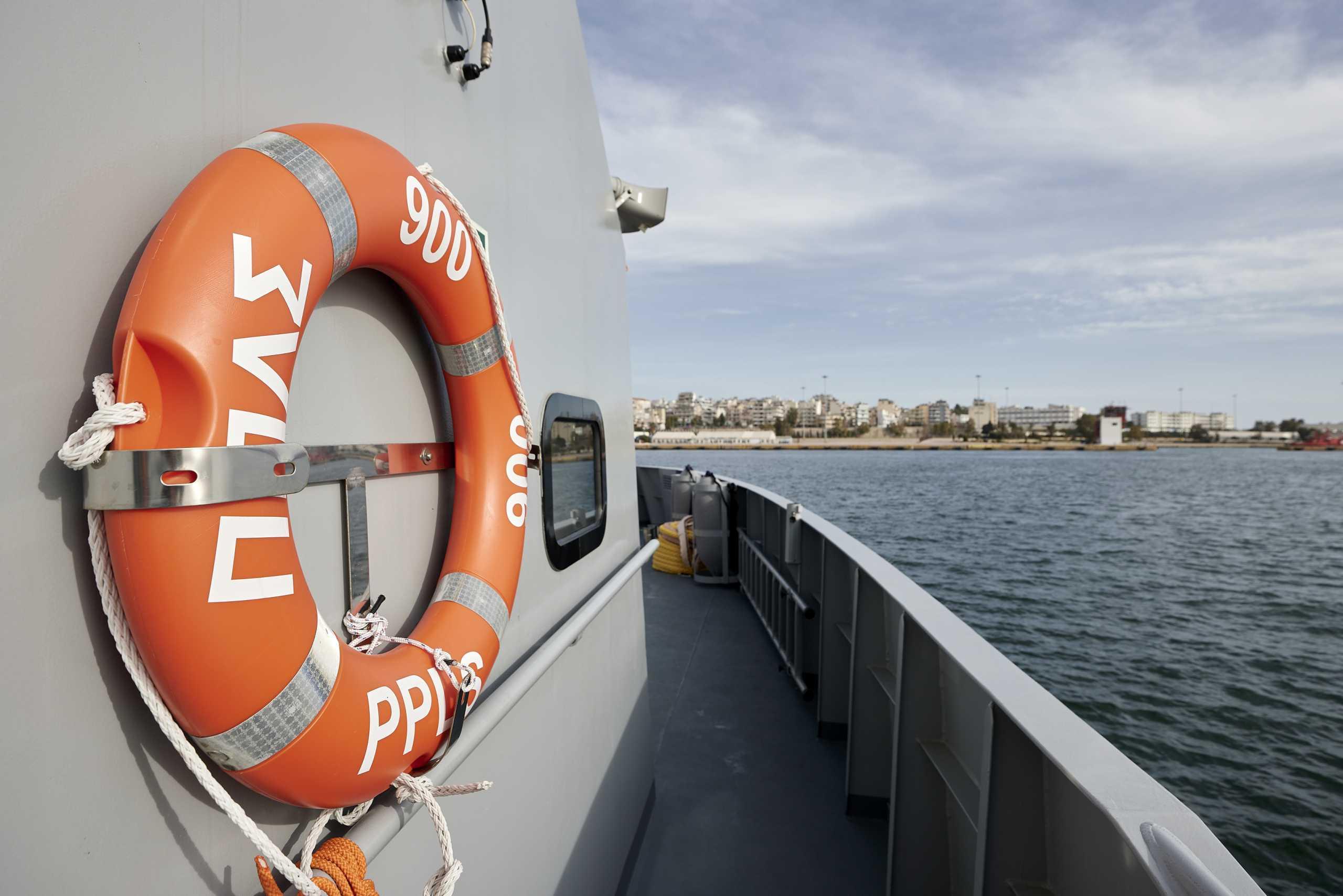 Σύγκρουση δεξαμενόπλοιου με αλιευτικό στον Καφηρέα