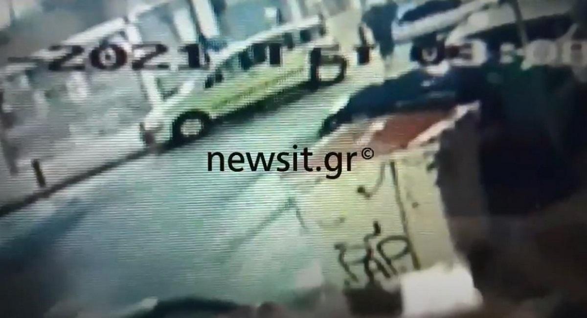 Βύρωνας: Nέο βίντεο-ντοκουμέντο από τη ληστεία στο κοσμηματοπωλείο
