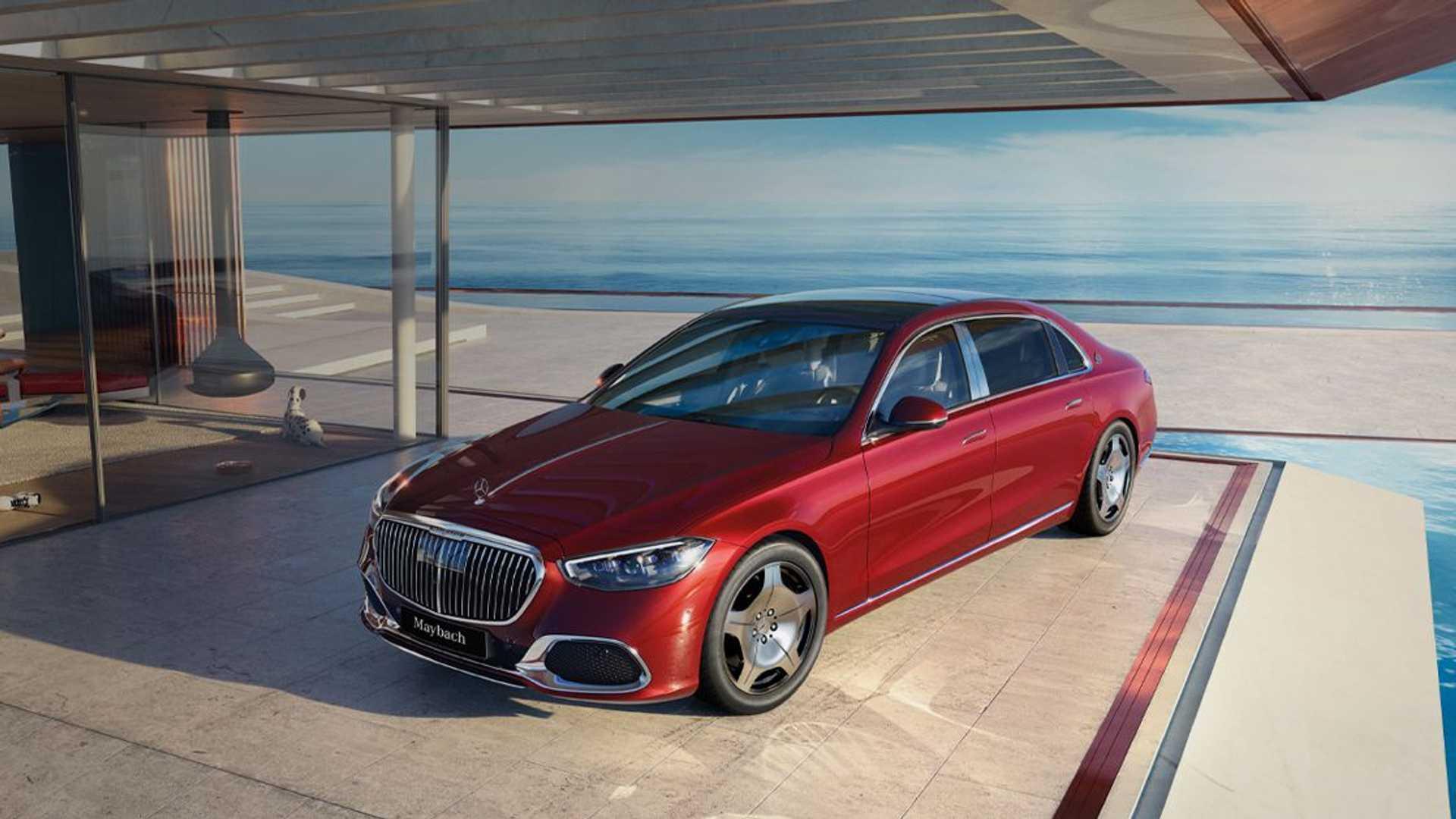Η Mercedes έφτιαξε μια Maybach  για τους… λιγότερο πλούσιους! (pics)