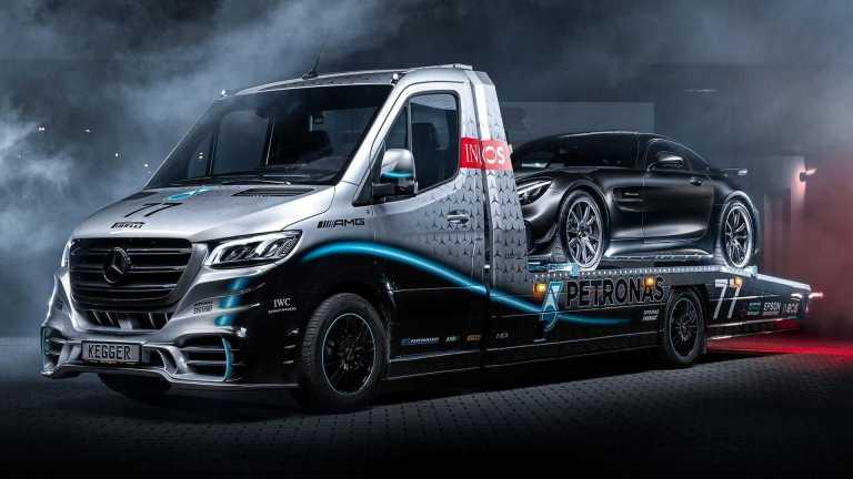 Ένα όχημα οδικής βοήθειας βγαλμένο από τις πίστες της Formula 1 (pics)