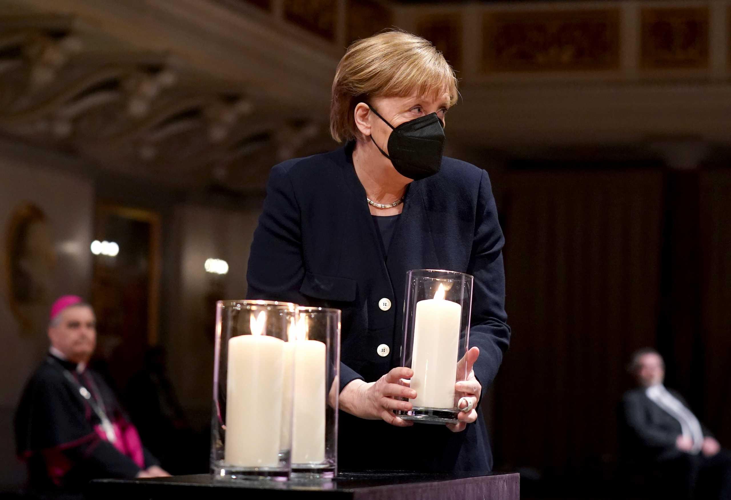 Γερμανία: Εκδήλωση μνήμης για τα 80.000 θύματα του κορονοϊού