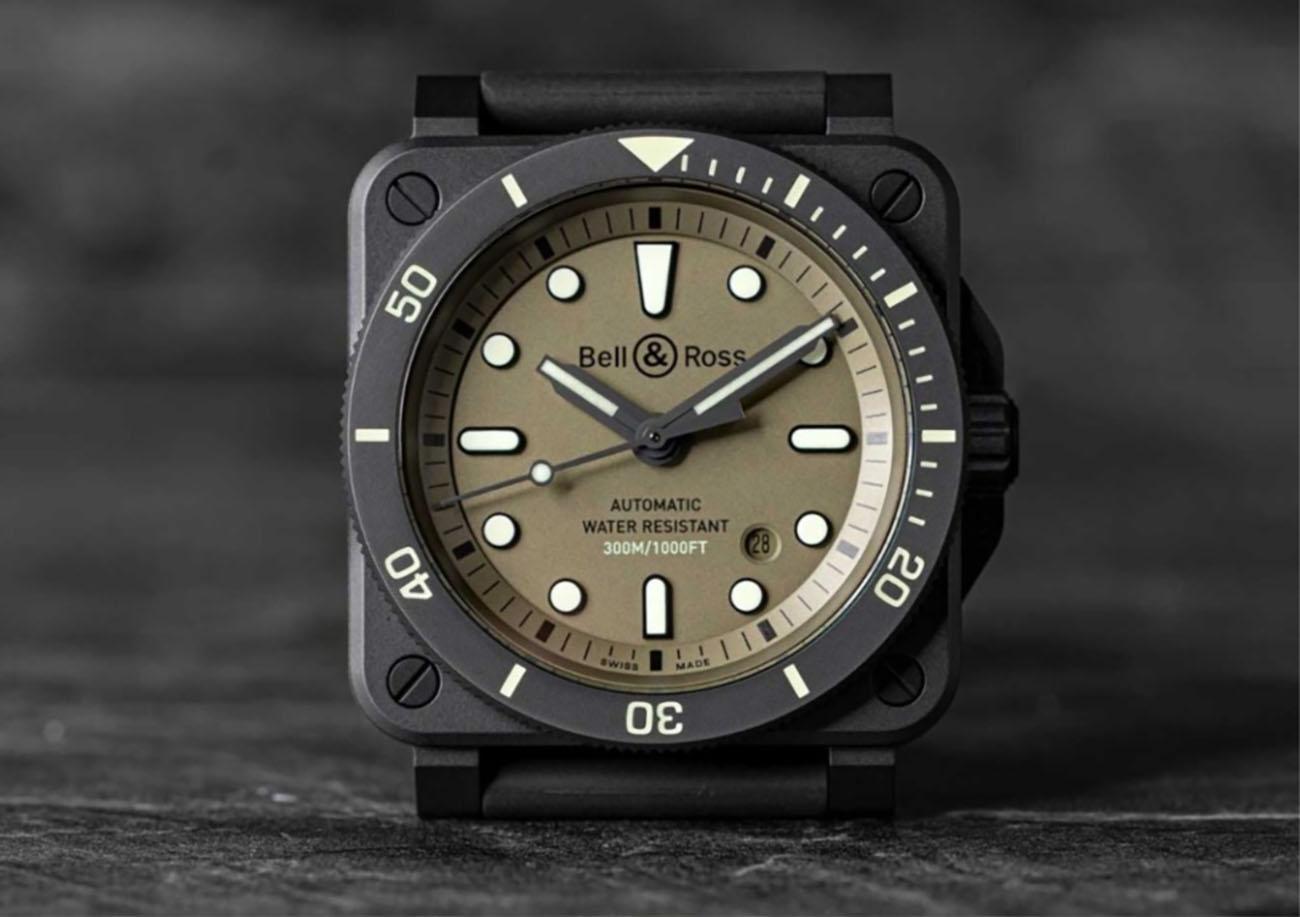 Ένα πανέμορφο καταδυτικό ρολόι Bell & Ross με ισχυρό στρατιωτικό DNA