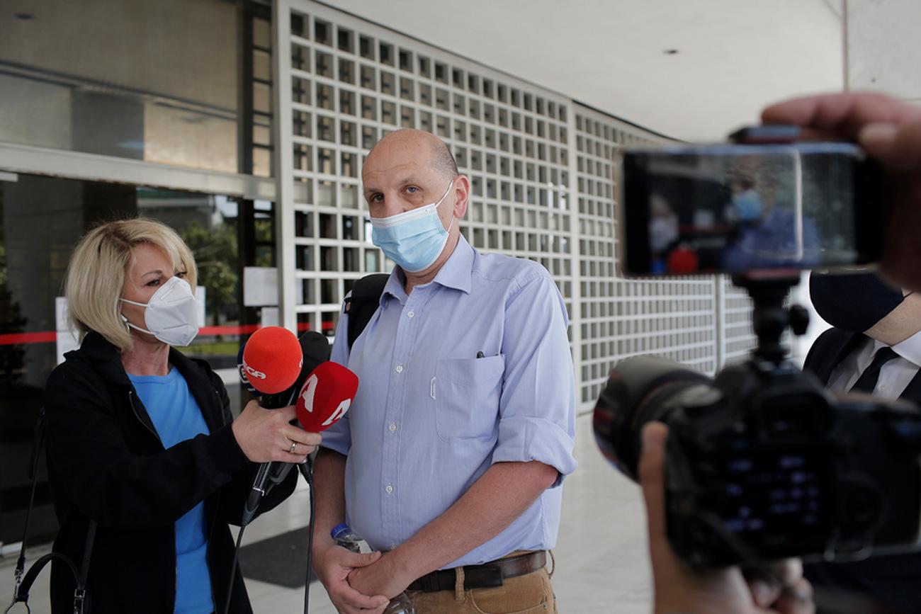 Μαραθώνια η πρώτη κατάθεση Μιωνή για Παπαγγελόπουλο – Συνεχίζεται τη Δευτέρα