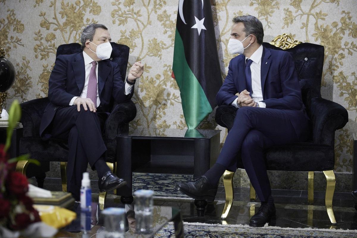 Τετ α τετ Μητσοτάκη – Ντράγκι στη Λιβύη