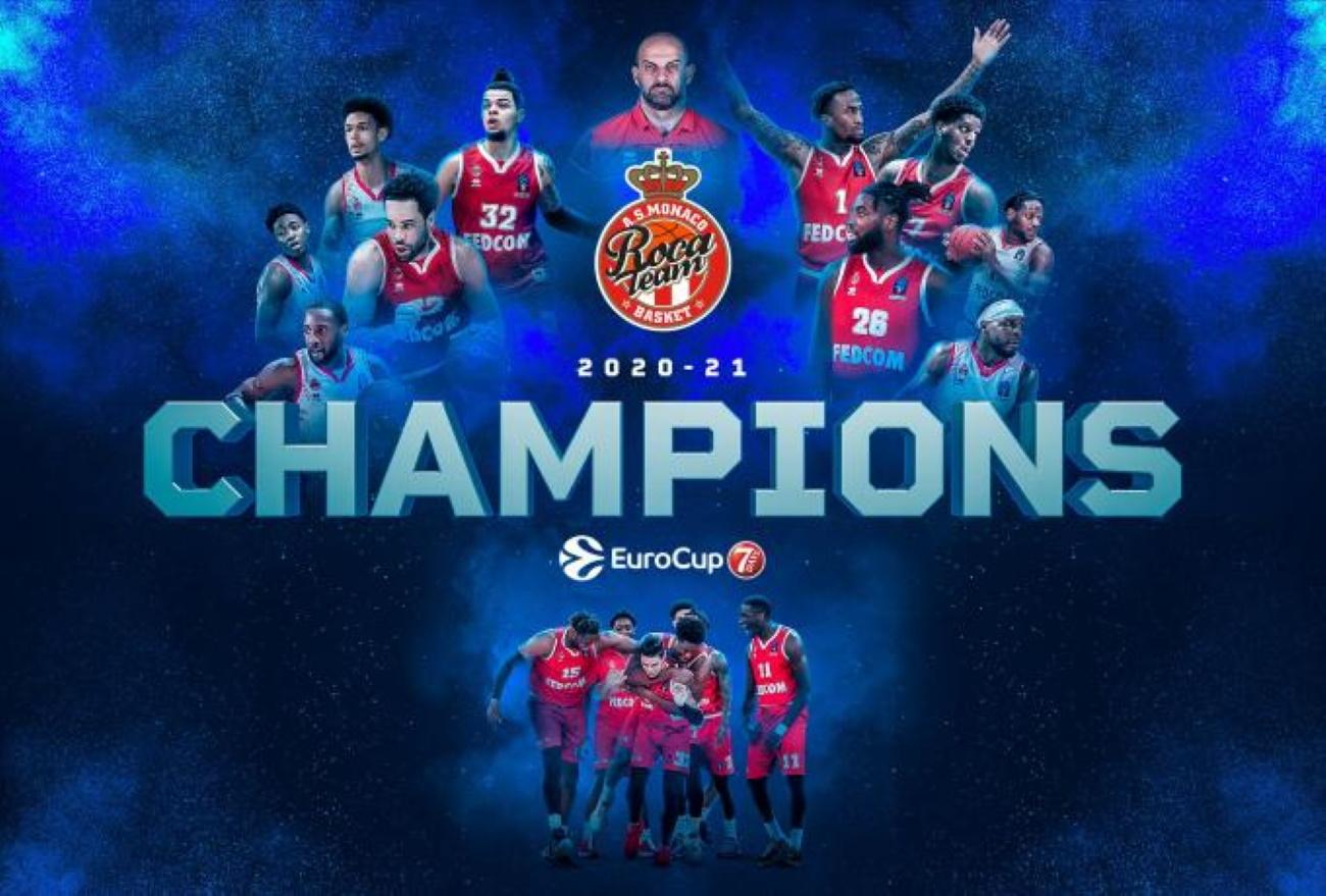 Η Μονακό νίκησε την Ούνικς του Πρίφτη και κατέκτησε το Eurocup