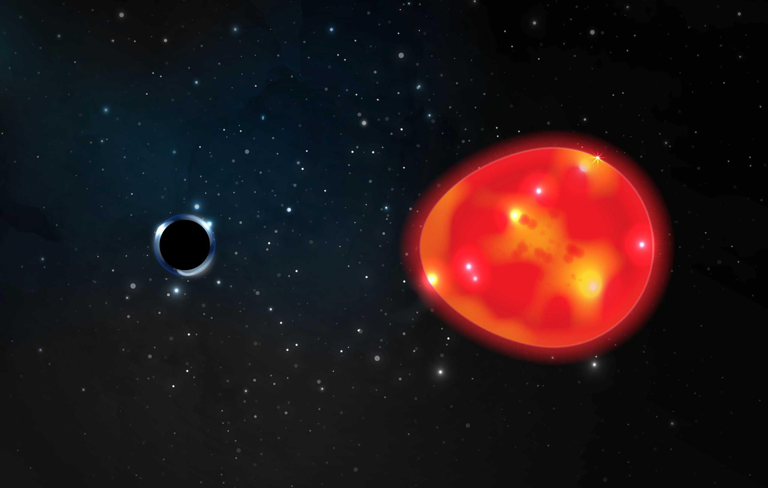 «Μονόκερως»: Αυτή είναι η πιο κοντινή στη Γη μαύρη τρύπα