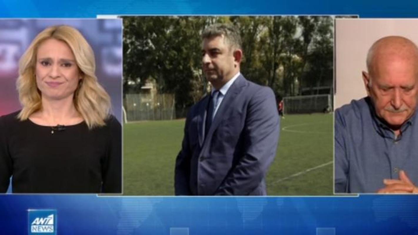 Γιώργος Καραϊβάζ: «Λύγισε» την ώρα του δελτίου ειδήσεων η Ρίτσα Μπιζόγλη