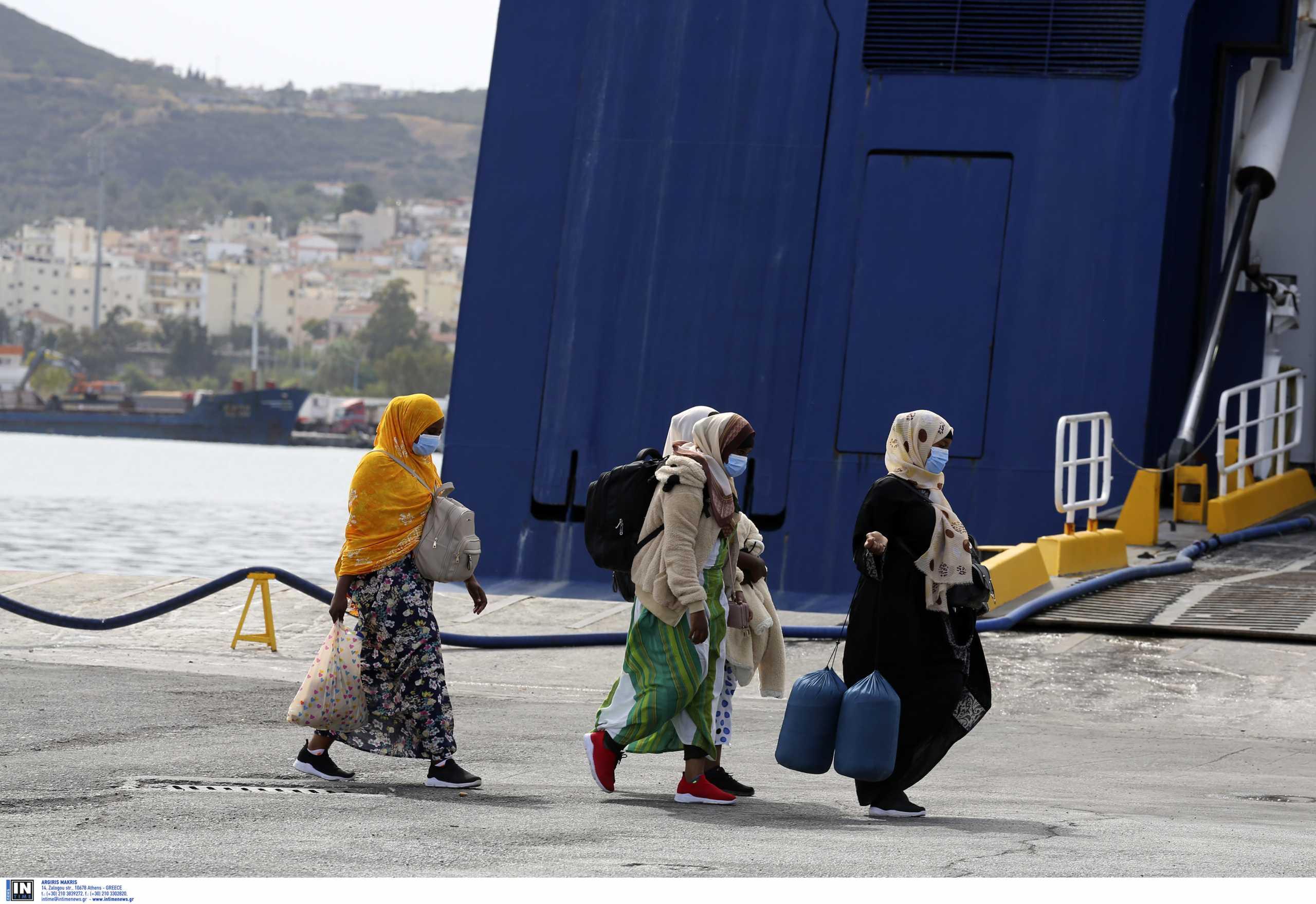 Μυτιλήνη: Πάνω από 1.100 πρόσφυγες αναχώρησαν το τελευταίο 20μερο