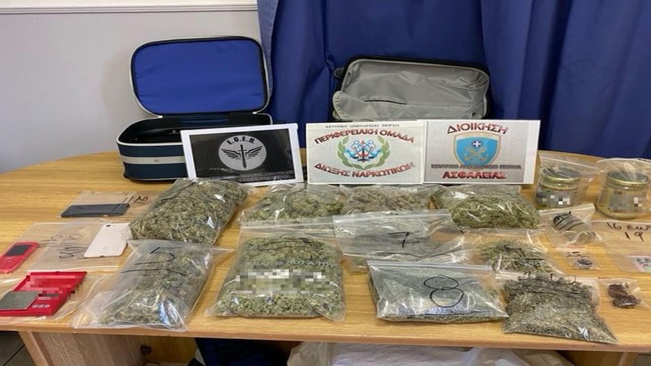Σύλληψη 38χρονου για ναρκωτικά – Τα διαφήμισε μέσω ιστοσελίδων (pics)