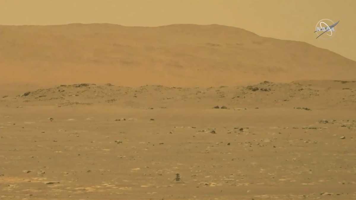 NASA: Ιστορική πτήση του ρομποτικού της ελικοπτέρου στον Άρη